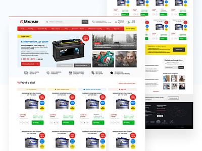 Car parts - eCommerce design web design ecommerce design car ecommerce ecommerce car parts graphics webdesign ux ux design ui design graphic design design
