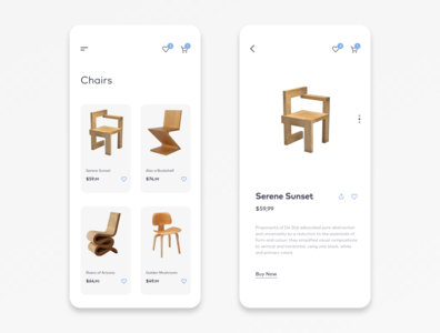 Mobile E-Commerce Design