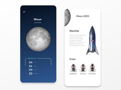 Mobile Countdown Timer Design countdown mission space countdowntimer mobile ui ui design dailyui 014 ux dailyui app