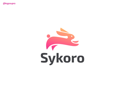 Sykoro web app minimal brand and identity icon branding logo illustration vector design