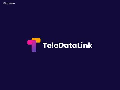teledatalink ui minimal app brand and identity icon branding logo illustration vector design