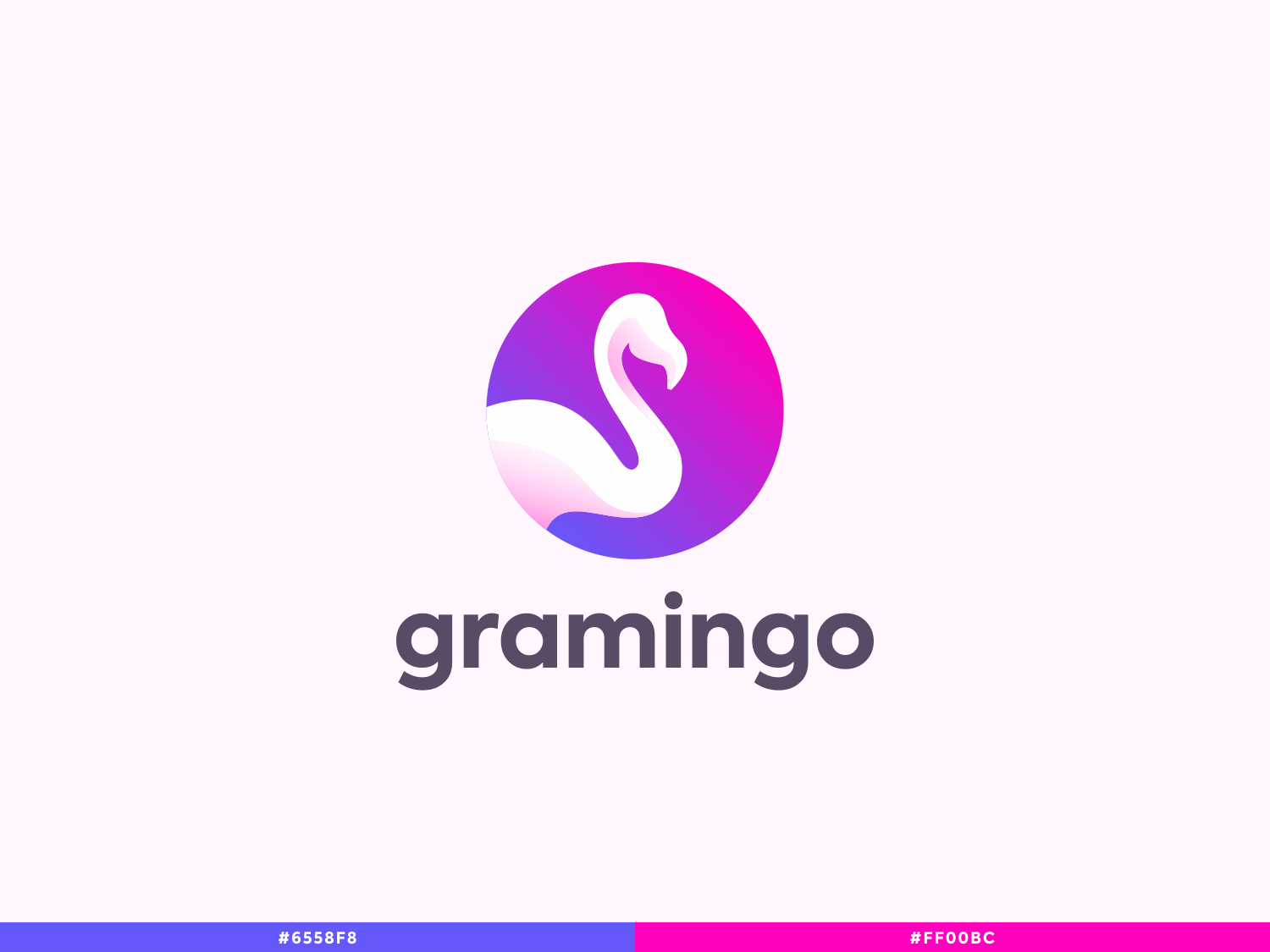 Gramingo design vector illustration logo branding icon minimal brand and identity monogram letter mark flat app negativespace monogram logo packagedesign ui ux