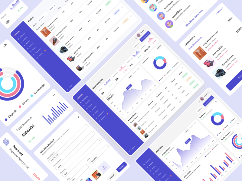 Kwicart E-commerce Dashboard minimal animation illustration ux  ui mobile app ui app ux typography design