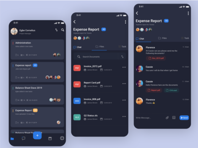 Project Manager App - Daily UI Challenge 1/100