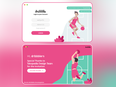 Rifo's First Shot on Dribbble