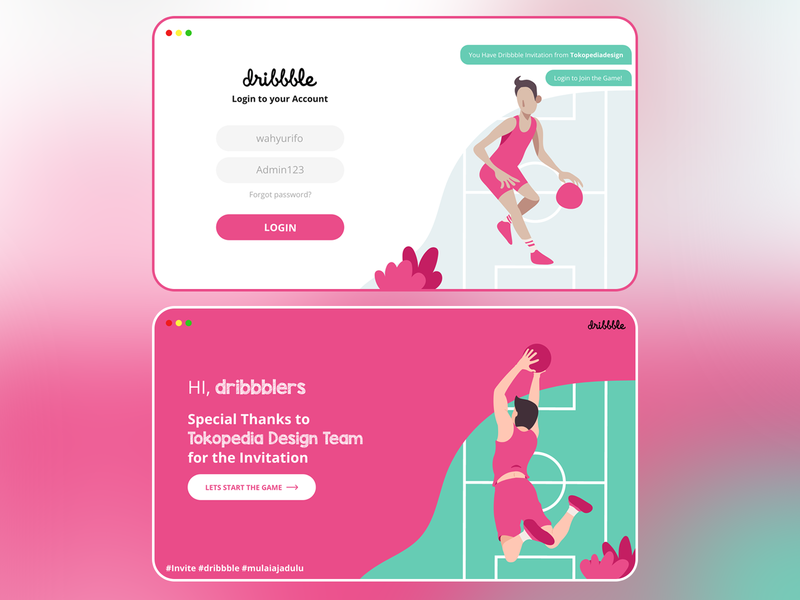 Rifo's First Shot on Dribbble web dribbble invitation ios interface invitation minimal ux flat vector ui design illustration