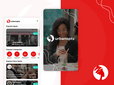 Business Listing App business listing business spots search travel explore ios app design adobe android hello dribble ui uiux adobexd creative graphic design