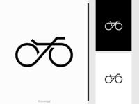 Bicycle Logo tour logo identity logo mark logotype brand designer brand design logo inspiration logo idea logo for sale logo designer logo design sport transport vehicle wheel minimalist line monoline bike bicycle