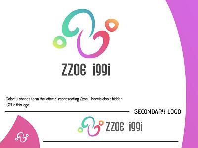 Zzoe Iggi Logo (2021) project brand designer brand design logomark logotype logo inspiration logo idea logo project logo designer logo design personal indonesia pekalongan colorful color letter lettermark initial designer zzoe iggi