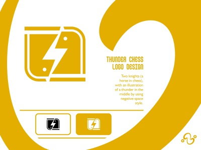 Thunder Chess Logo illustration brand designer brand design logomark logotype logo inspiration logo idea logo for sale logo designer logo design queen king horse knight sport thunderbolt bolt lightning chess thunder