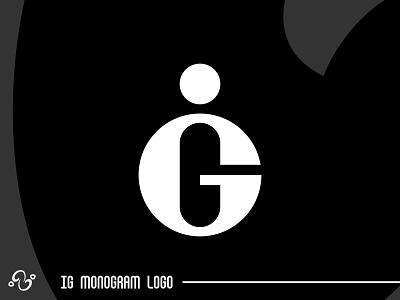 IG Monogram Logo illustration brand designer brand design logomark logotype logo inspiration logo idea logo for sale logo designer logo design lettering text typographic typography alphabet letter monogram initial lettermark ig