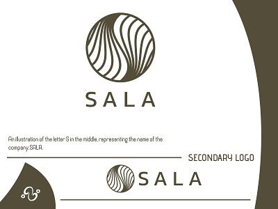 SALA Logo (2021) illustration brand designer brand design logotype logomark logo inspiration logo idea logo project logo designer logo design usa california designhill project company furniture interior decoration event sala