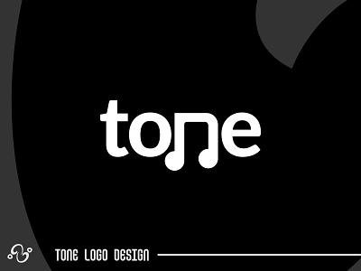 Tone Logo Design illustration brand designer brand design logomark logotype logo inspiration logo idea logo for sale logo designer logo design typographic typography lettermark initial wordmark musical musician music note tone