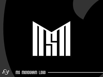 MS Monogram Logo illustration brand designer brand design logomark logotype logo inspiration logo idea logo for sale logo designer logo design monogram wordmark typographic typography alphabet initial lettermark sword micro ms