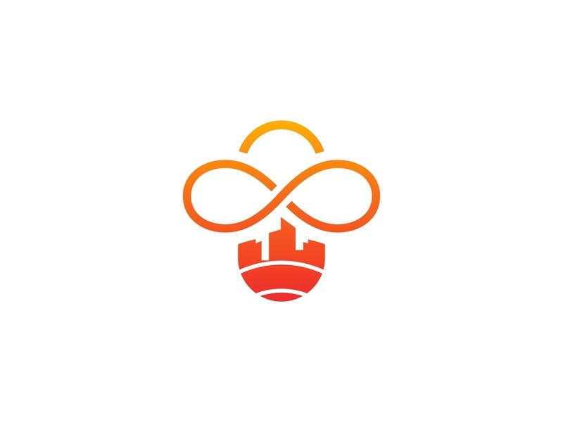 Bee City Logo by opandri on Dribbble