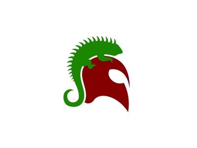 Iguana Spartan Logo
