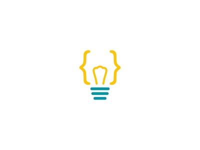 Coding Bulb Logo
