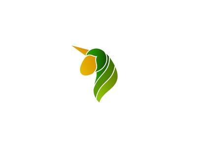 Unique Corn Logo