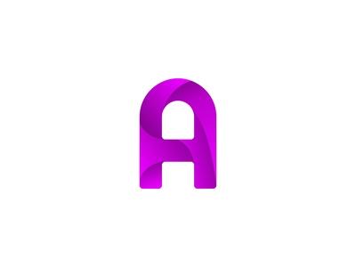 Stylish A Logo
