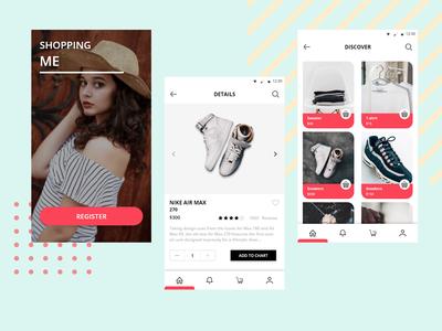 Shopping ME App - Design Exploration