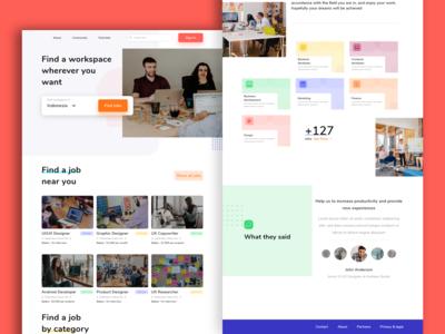 Find Jobs - Website Exploration