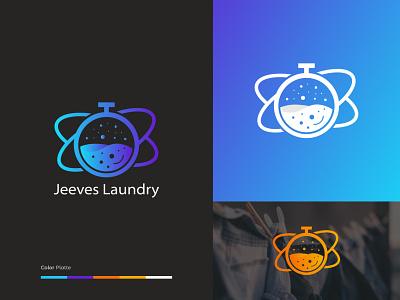 Laundry logo design character animation mobile app logo mark icons iconset adobe illustrator figma template finance product design popular shot trend shots ui design illustration colorful logo laundry app landing page rimonhasand601 laundry