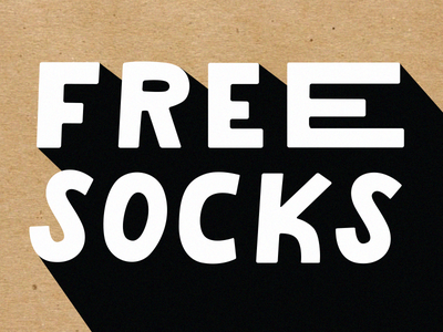 FREE SOCKS free packaging oddpears internal socks