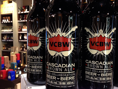 On Shelves bottle vcbw beer