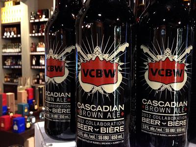 On Shelves bottle vcbw beer