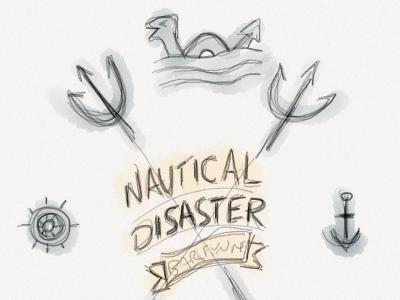 Nautical Disaster - Sketch