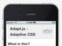 Adapt.js Micro Site
