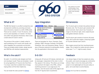 960.gs Redux 960 grid redesign