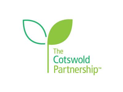The Cotswold Partnership Logo brand logo ident identity logomark green plant seed