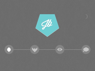 jamiebrightmore.com  minimal clean geometric symbols icons identity logo ident