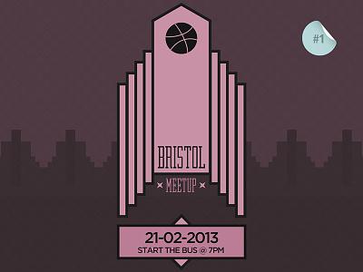 Dribbble Bristol Meetup #1 dribbble meetup bristol artdeco