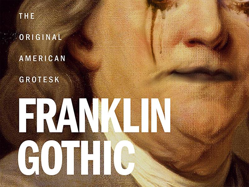 Franklin Gothic by Ryan Fernandez on Dribbble