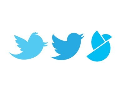Restyling logo twitter