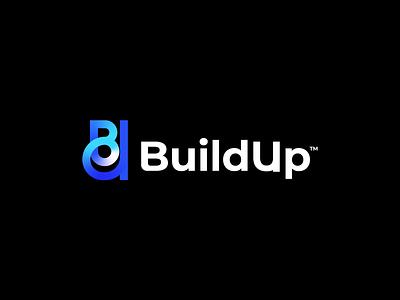 BuildUp network connect logodesigner logo design agency bu logo minimal brand luxury band design logo branding agency branding app logo abstract logo