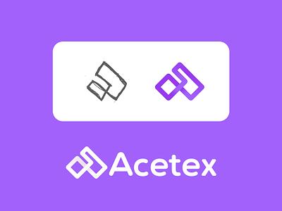 Acetex network connect logo designer top designer vibrant a letter logo a letter a logo startup logo startup tech company logo design design tech logo minimal brand logo branding agency branding app logo abstract logo