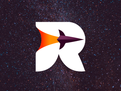 Rocketo logo design