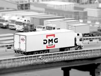 Logo for a logistic company