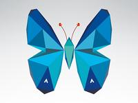Geometric Butterfly 2