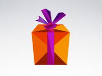 Geometric Gift Box