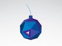 Geometric Bauble Ornament