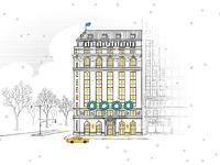 Ny snow building lge