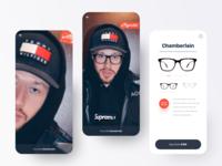 AR Glasses App UI