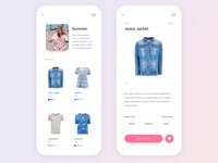 eCommerce Mobile UI