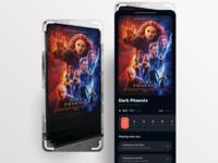 AR Scan Movie App UI