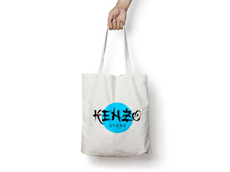 Kenzo Store goody bag apparel shoes packaging store design bag store