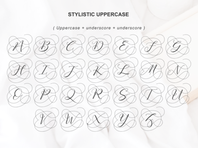 Fathir Uppercase Alternates